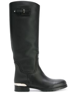 Ermanno Scervino | -Tone Detail Boots 40 Calf Leather/Leather/Rubber