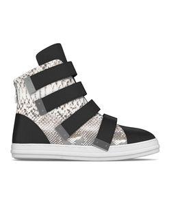 MYSWEAR | Bond Hi-Top Sneakers 45 Calf Leather/Nappa Leather/Python