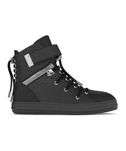 MYSWEAR | Regent Hi-Top Sneakers 42 Calf Leather/Nappa Leather/Python