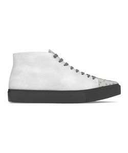 MYSWEAR | Carnaby Hi-Top Sneakers 37 Calf Leather/Ostrich Leather/Suede/Rubber