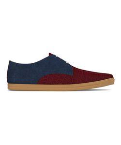 MYSWEAR | Dean Sneakers 38 Calf Leather/Crocodile Leather/Suede/Rubber