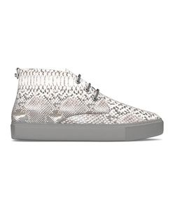 MYSWEAR | Maltby Mid-Top Sneakers 42 Calf Leather/Python Skin/Rubber