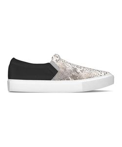 MYSWEAR | Maddox Slip-On Sneakers 42 Calf Leather/Nappa Leather/Python Skin/Rubber