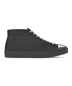 MYSWEAR | Carnaby Hi-Top Sneakers 39 Calf Leather/Python Skin/Metal/Rubber