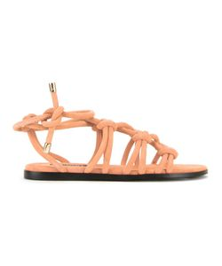 Senso | Freya Sandals 36 Suede/Synthetic Resin