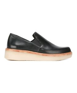 DKNY | Trey Slip-On Sneakers 8.5 Leather/Rubber