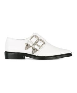 Toga | Buckled Loafers 36 Rubber/Leather