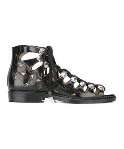 Toga | Polido Cutout Sandals 36 Calf Leather/Leather