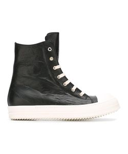 Rick Owens | Hi-Top Sneakers 41.5 Leather/Rubber