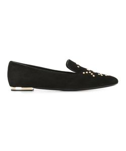Burberry | Studded Slippers 36 Suede/Leather