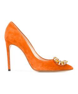 Casadei | Декорированные Туфли-Лодочки На Шпильке