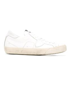 Philippe Model | Lateral Patch Sneakers 42 Leather/Cotton/Rubber