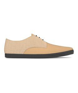 MYSWEAR | Dean Sneakers 38 Calf Leather/Crocodile Leather/Leather/Rubber