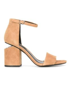 Alexander Wang | Abby Sandals 40 Suede/Leather