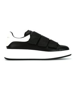 Alexander McQueen | Extended Sole Sneakers 40 Leather/Rubber