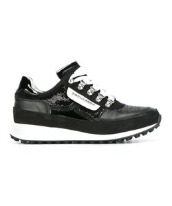 Dsquared2 | Dean Goes Hiking Sneakers 39 Cotton/Calf Leather/Polyurethane