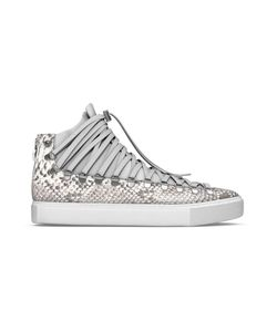 MYSWEAR | Redchurch Hi-Top Sneakers 45 Calf Leather/Nappa Leather/Python Skin/Rubber