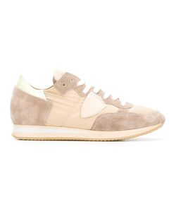 Philippe Model | Lateral Patch Sneakers 40 Suede/Polyester/Nylon/Rubber