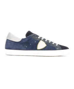 Philippe Model | Lateral Patch Sneakers 41 Suede/Leather/Rubber
