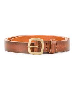 Dsquared2 | Worn Effect Skinny Belt 90 Leather