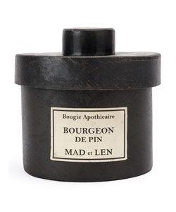 Mad Et Len | Bougie Apothicaire Bourgeon De Pin Adult Unisex