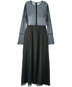 ANDREA YA'AQOV | Sheer Layer Dress Small Cotton/Silk/Spandex/Elastane