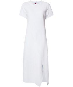 SIES MARJAN   Draped Maxi Dress 8 Viscose/Cotton/Polyamide