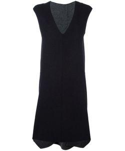 SYSTEM | V-Neck Dress Medium Cotton/Nylon