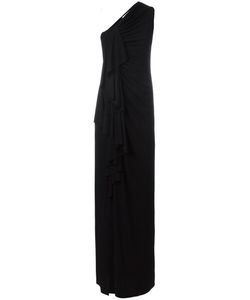 Givenchy | Gathered One Shoulder Gown 38 Viscose/Spandex/Elastane/Polyamide/Silk