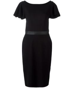 Diesel | Pleated Trim Fitted Dress Small Viscose/Nylon/Spandex/Elastane
