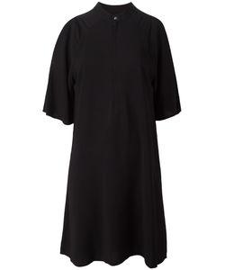 Diesel Black Gold   Diesel Round Neck Shift Dress 38 Spandex/Elastane/Polyester/Rayon