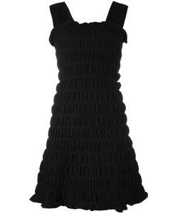 Victoria, Victoria Beckham | Victoria Victoria Beckham Smocked Dress 8 Nylon/Polyester