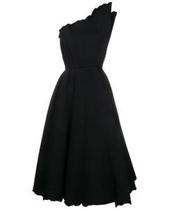 Vika Gazinskaya | Structured One Shoulder Dress 36 Cotton/Polyacrylic