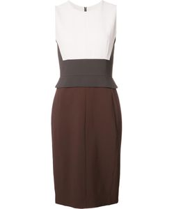 Narciso Rodriguez | Colour Block Detail Fitted Dress 42