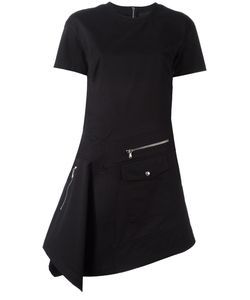 Diesel Black Gold | Diesel Zip Detail Fitted Dress 44 Cotton
