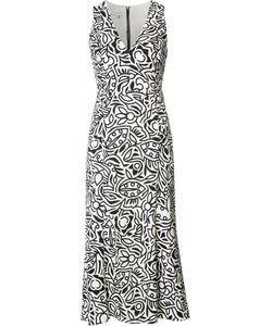 Narciso Rodriguez | Print Shift Dress 40 Silk/Spandex/Elastane