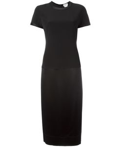 DKNY | Mixed Media Midi Dress 6 Polyester/Triacetate