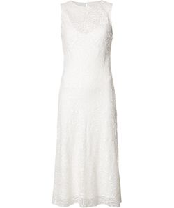 Narciso Rodriguez | Round Neck Shift Dress 40 Silk/Cotton