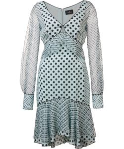 J. Mendel | Split Sleeves Dress 8 Silk