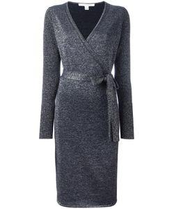 Diane Von Furstenberg | Nango Wrap Dress Medium Merino/Viscose/Polyester Fibre