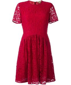 Burberry | Fit-And-Flare Lace Dress 12 Rayon/Cotton/Polyamide/Polyester