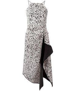 C/MEO | Draped Detail Midi Dress Medium Polyester