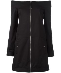 Diesel Black Gold | Zip Up Fitted Dress 38 Cotton/Spandex/Elastane