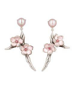SHAUN LEANE | Cherry Blossom Rhodolite Earrings