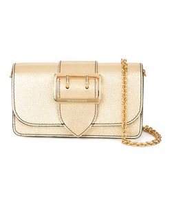 Burberry | Buckle Detail Crossbody Bag Calf Leather/Polyester