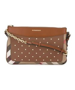 Burberry | Flat Crossbody Bag Cotton/Calf Leather/Polyamide