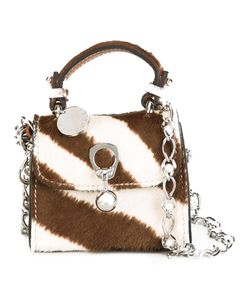 Ermanno Scervino | Zebra Pattern Crossbody Bag Calf Hair