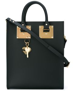 Sophie Hulme | Stylised Stud Detail Tote Bag Leather
