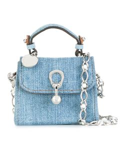 Ermanno Scervino | Denim Crossbody Bag Cotton