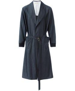 Emiliano Rinaldi | Belted Mid Coat 50 Wool/Viscose/Cupro